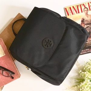 "Tory Burch Diaper Bag Backpack ""Baby Bag"" Black"
